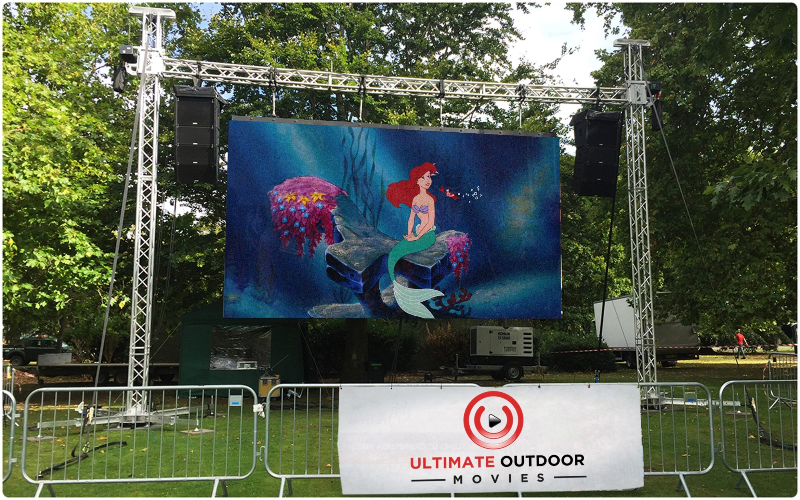 indoor and outdoor led display