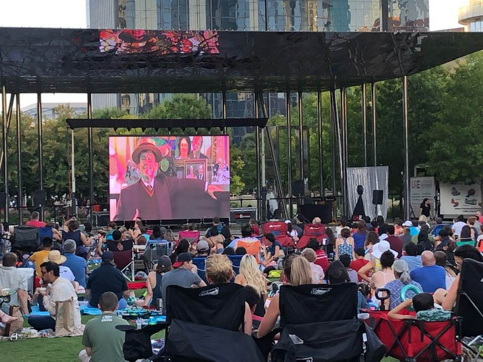 Outdoor Movie Screen Rental | Movie Night Projector ...